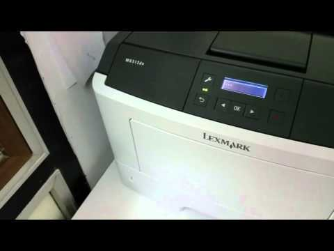 Unexplainable Problems with LEXMARK MS 312 DN