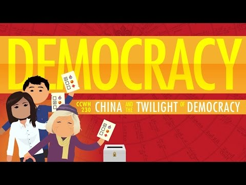 Democracy, Authoritarian Capitalism, and China: Crash Course