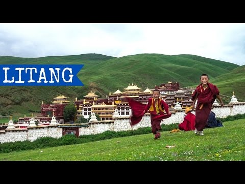 Litang (高城镇) | Sichuan | China | Tibet | TravelGretl 2016 Full HD