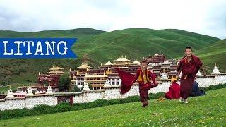 Litang (高城镇)   Sichuan   China   Tibet   TravelGretl 2016 Full HD