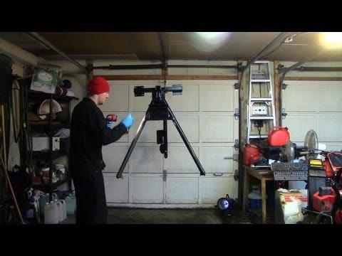 Part 4: Electric Utility Hoist/Engine Hoist (Painting & Wiring)