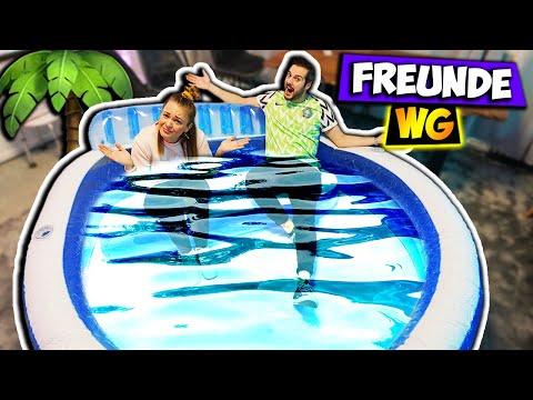 sam-baut-swimming-pool-in-liz'-zimmer-auf!-sommer-in-der-freunde-wg-#39