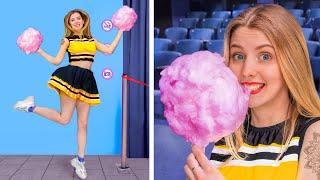 видео: Как пронести сладости в кинотеатр / Смешные трюки с едой