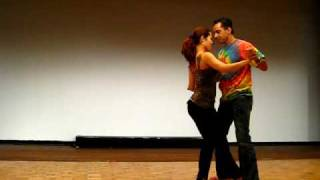 Видео: Hamburg Salsa Festival 2009 (HD) - Alex da Silva Partner work (Part 2)