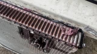 эффективность герметика для радиатора!!!