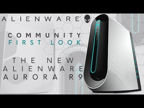 Community First Look: Alienware Aurora R9