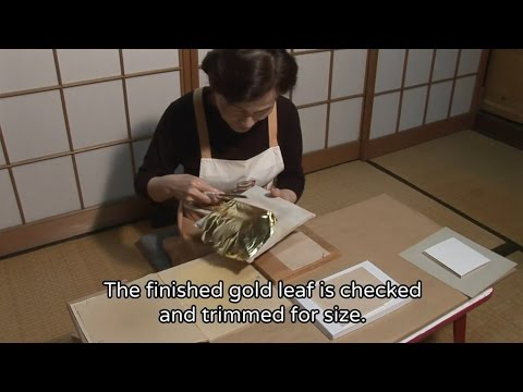 THE MAKING(English Version)(271)The Making of Gold Leaf
