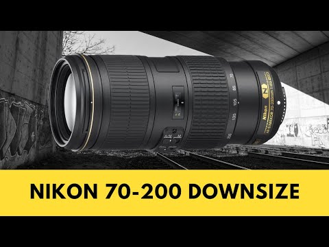 DOWNSIZING from Nikon 70-200mm f2.8 to 70-200mm f4 & WHY