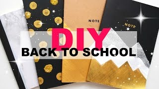 DIY NOTEBOOK COVER DESIGN | BACK TO SCHOOL