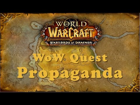 WoW Quest: Propaganda