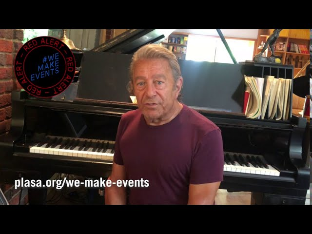 Composer Jeff Wayne Supports #WeMakeEvents