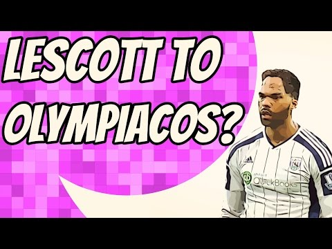 Olympiacos chasing West Brom centre-back Joleon Lescott