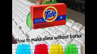 How to make slime with powder laundry detergent how to make slime with powder laundry detergent no borax ccuart Image collections