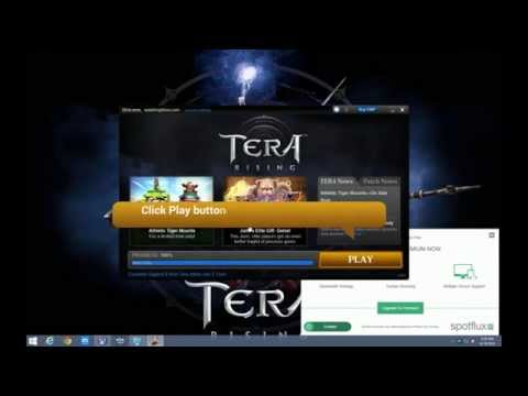How to sign up and play Tera NA off region