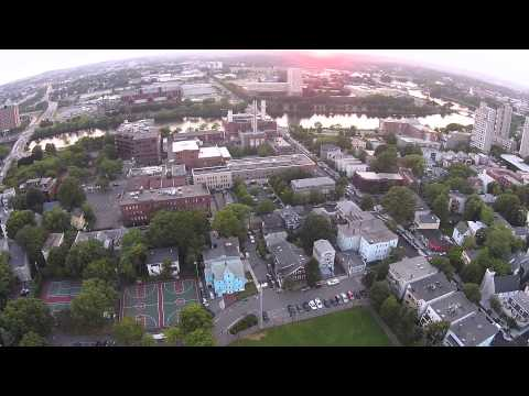 Summer Nights - Drone video over Cambridge, MA