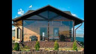 Мягкие окна (ПВХ шторы) для террасы загородного дома - Балашиха. Выполненные проекты -