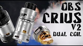 Crius V2 Dual Coil RTA By OBS  Это классика в новом исполнении