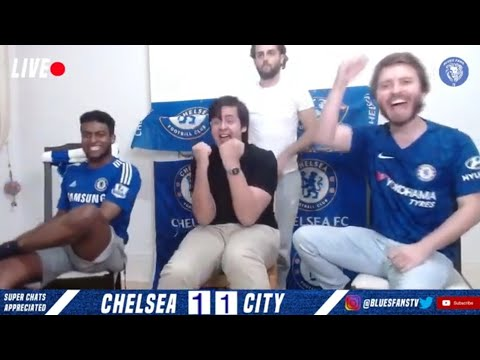 Chelsea 2-1 Manchester City || Best Of The @BLUES FANS TV Watch Along!