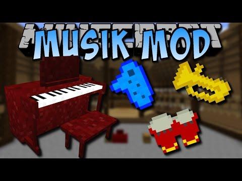 Minecraft MUSIK MOD (Klavier, Ocarina, Vögel) [Deutsch]
