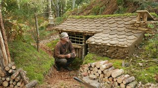 SURV VAL EARTH LODGE HOUSE 2 - Building A Complete And Warm Shelter To Survive