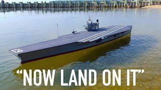 R/C Planes Land on R/C Aircraft Carrier thumbnail