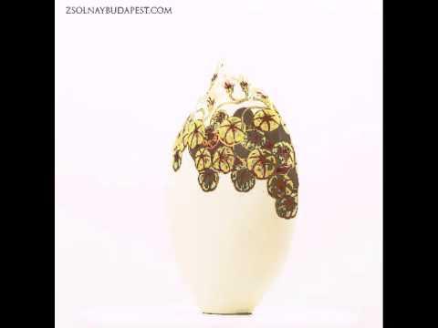 zsolnaybudapest.com Pumpkin desire One of a kind Vase by Zsolnay porcelain manufactory