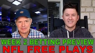 NFL Picks and Predictions | Cowboys vs Chargers | Jaguars vs Broncos | NFL Week 2 Betting Preview