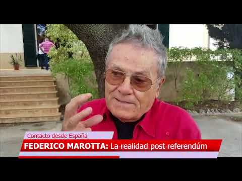 FEDERICO MAROTTA La realidad post referendúm en España
