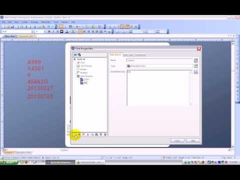 HIBCC 2D Barcode - Adding Human Readable Data