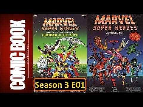 FASERIP Season 03 Episode 01 - Marvel Super Heroes RPG | COMIC BOOK UNIVERSITY
