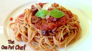 Spaghetti Puttanesca - Recipe