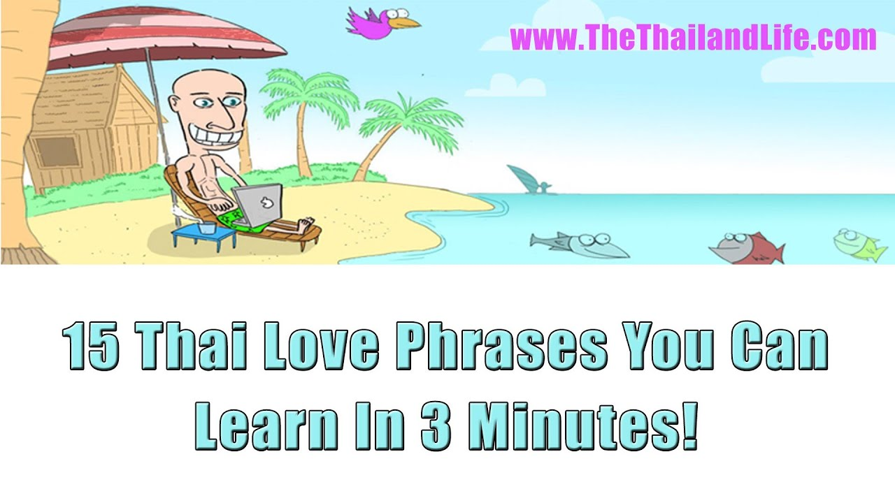 thai phrases love