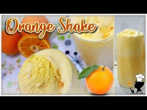 Orange Shake | Variety MilkShake | ഓറഞ്ച്  മിൽക്ക് ഷേക്ക് | Sameenas Cookery