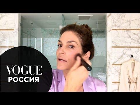 Антивозрастной макияж Синди Кроуфорд