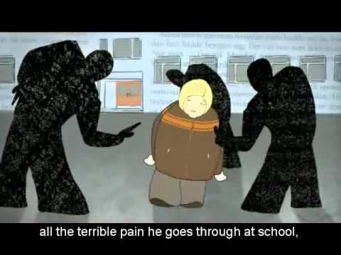 """""""Låt den rätte komma in """"  (""""Let the Right One In"""") Norwegian Animation with English Subtitles"""
