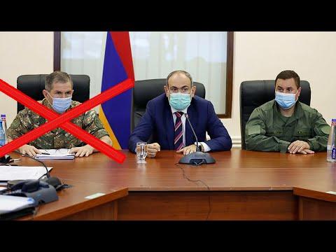 Пашинян уволил замминистра обороны Армении