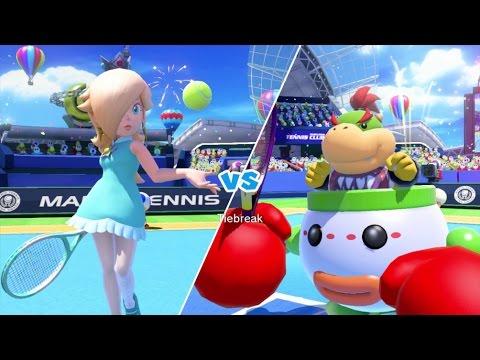 Mario Tennis: Ultra Smash Walkthrough Part 5 - Knockout Challenge (Unlocking Star Rosalina)