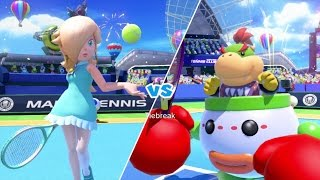 Mario Tennis: Ultra Smash Walkthrough Part 5 - Knockout Challenge (Unlocking Star Rosalina)