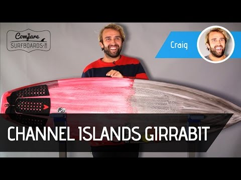 Jordy Smith's Channel Islands Girabbit Review + Futures AM2 Fins no.143 | Compare Surfboards