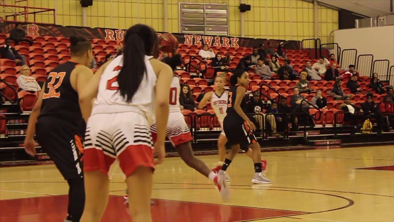 promo code de28f 96425 Rutgers-Newark Women's Basketball Highlights vs William Patterson