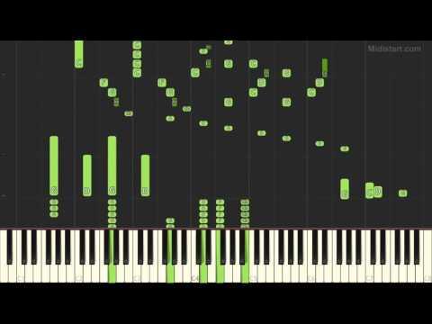Jun Wakita - Piano Concerto No. 1 Scorpion Fire (Piano Tutorial) [Synthesia Cover]