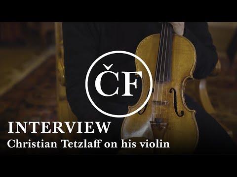 Christian Tetzlaff on his 2000 Greiner violin