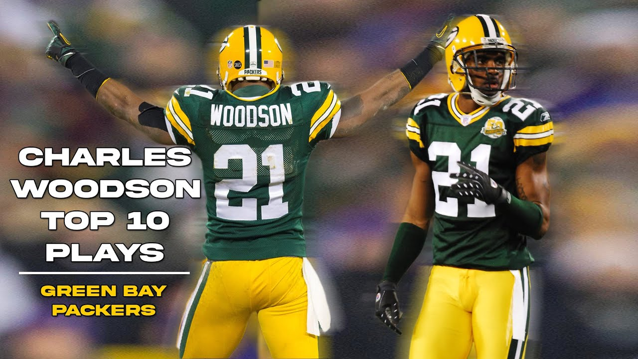 Charles Woodson Top 10 Plays Green Bay Packers Youtube