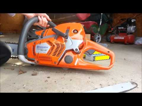 How to start change a bar chain on husqvarna chainsaw 562xp how to start change a bar chain on husqvarna chainsaw 562xp 142 model wood cutting 562 xp greentooth Image collections
