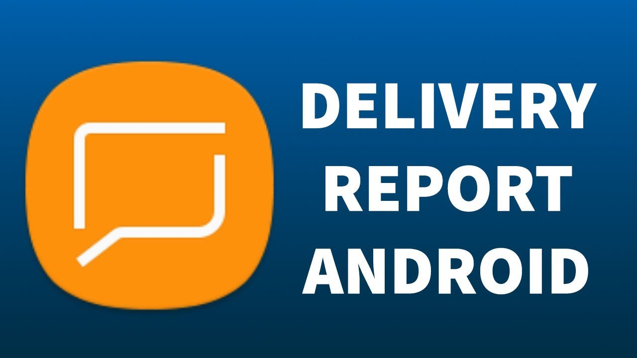 How to Enable SMS and MMS delivery report on Android