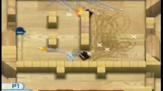 Wii Tanks Mission 100 Completed With 4 Lives Left!
