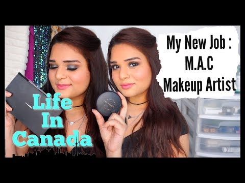 I GOT HIRED AT MAC COSMETICS | Q&A - Lifestyle & Jobs in Tor