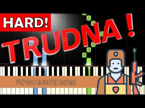 🎹 Przybyli ułani pod okienko - Piano Tutorial (TRUDNA! wersja) 🎹