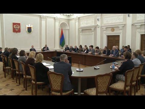 Встреча Артура Парфенчикова с лидерами профсоюзов Карелии