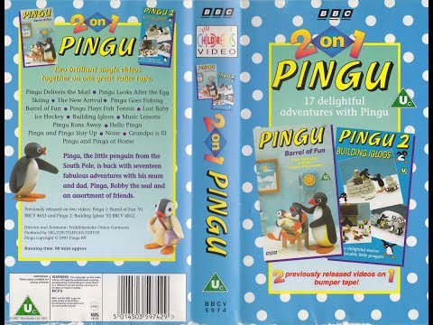 Pingu: 2 On 1 (1997 UK VHS)